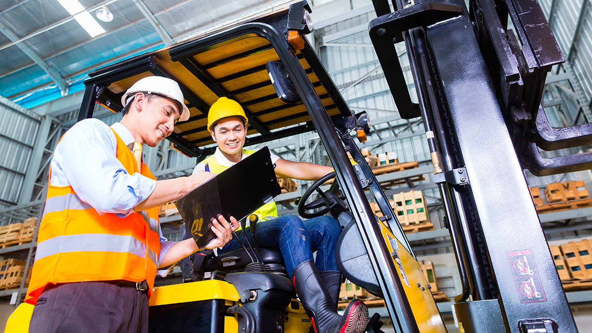 Forklift truck Training Courses